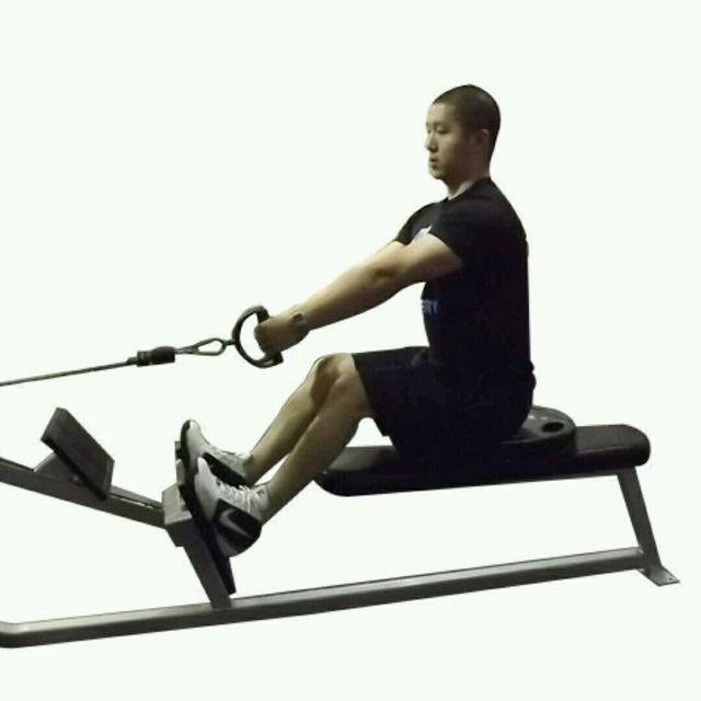 How to do: CM Two Arm Seated Row - Step 1