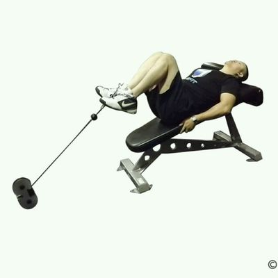 CM Decline Bench Knee Raise