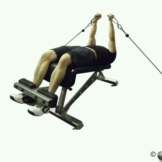 How to do: CM Decline Chest Fly - Step 2