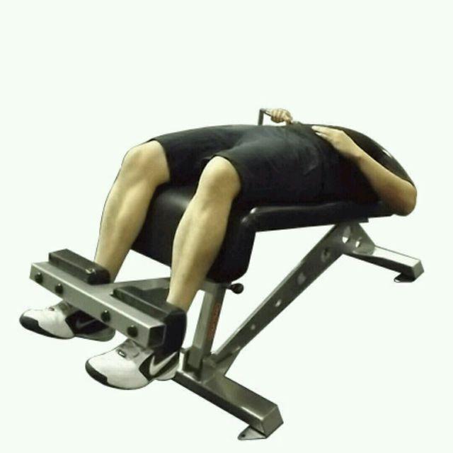 How to do: CM Decline One Arm Chest Press - Step 1