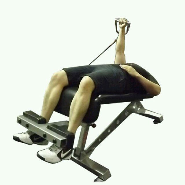 How to do: CM Decline One Arm Chest Press - Step 2