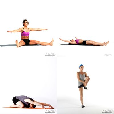 Pilates/stretches