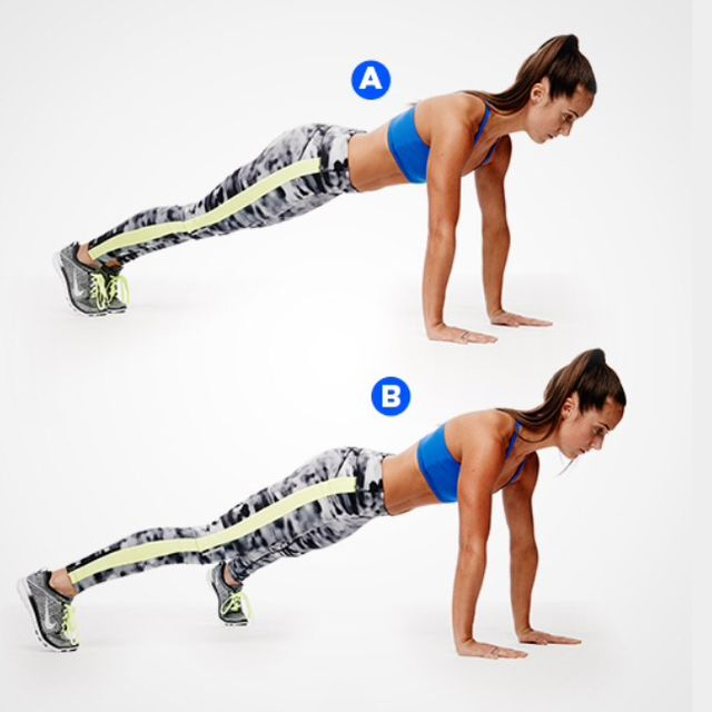 How to do: Plank Jack - Step 1