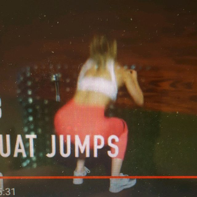 How to do: Resistance Band Squat Jumps - Step 1