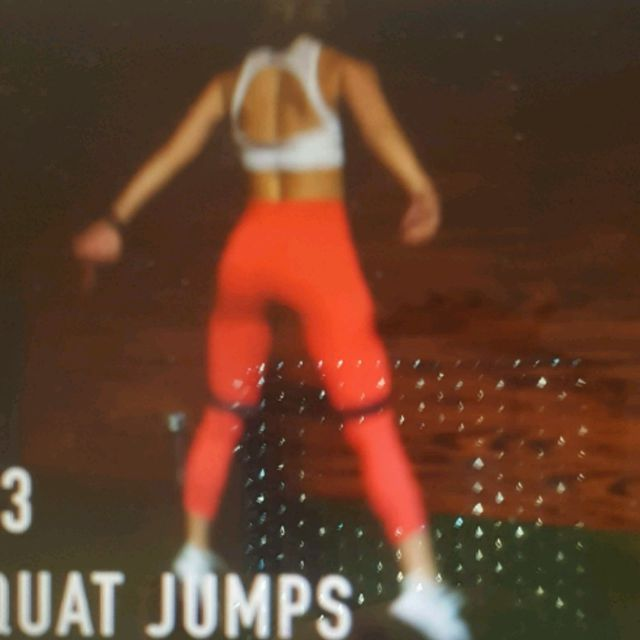 How to do: Resistance Band Squat Jumps - Step 2