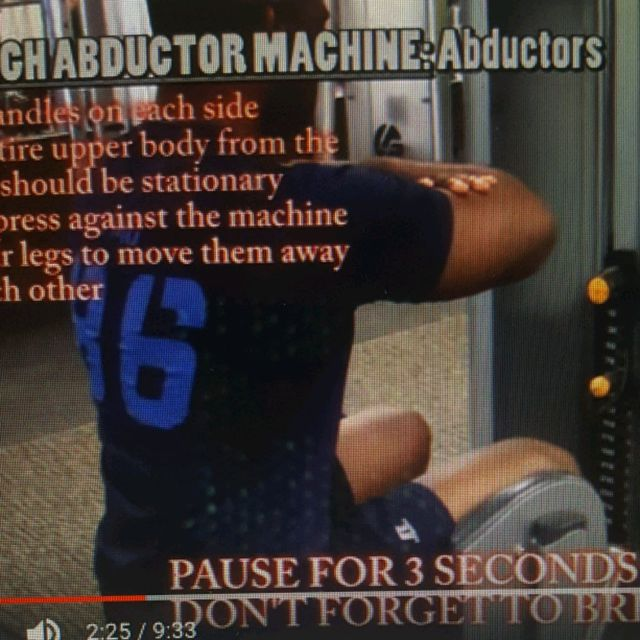 How to do: Machine: Hip/Thigh Abductor - Step 1