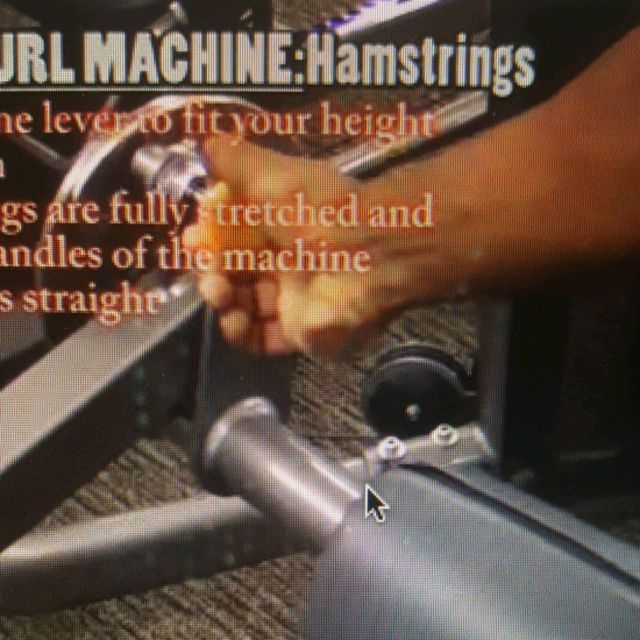 How to do: Machine: Lying Leg Curl - Step 1