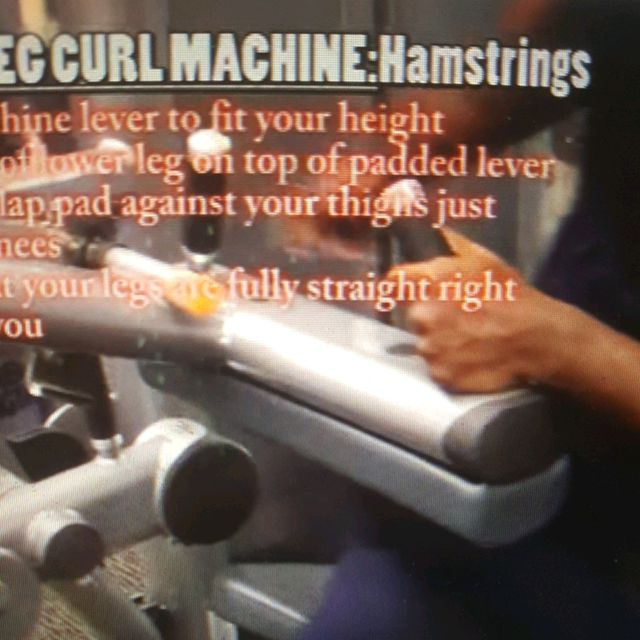 How to do: Machine: Seated Leg Curl - Step 2