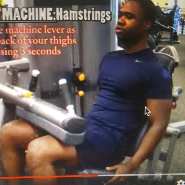 How to do: Machine: Seated Leg Curl - Step 4