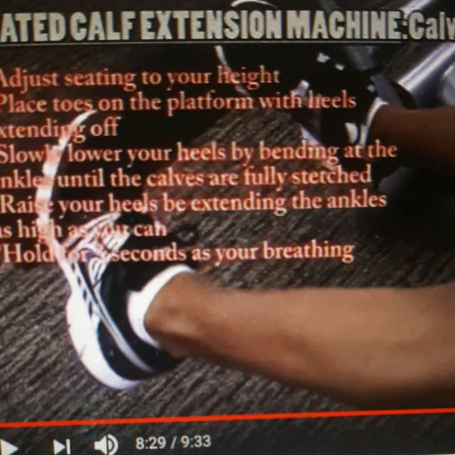 How to do: Machine: Seated Calf Extension - Step 1