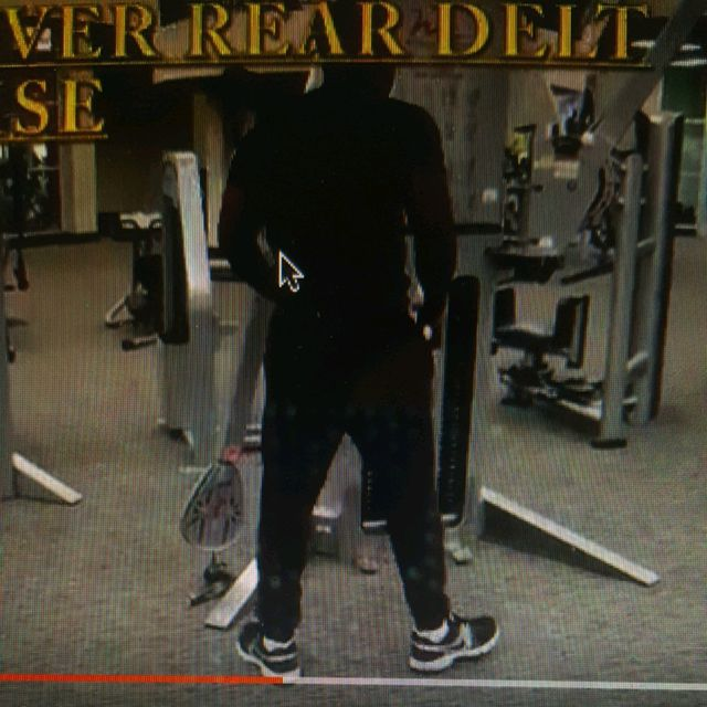 How to do: Bent Over Rear Delt Raise - Step 1