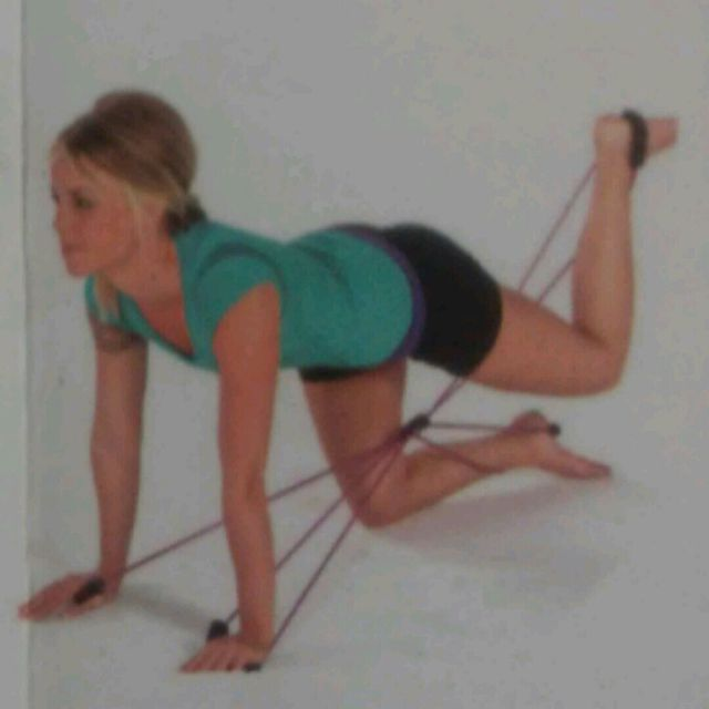 How to do: Leg Lift Band - Step 2