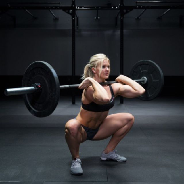 How to do: Cleans And Front Squat - Step 1