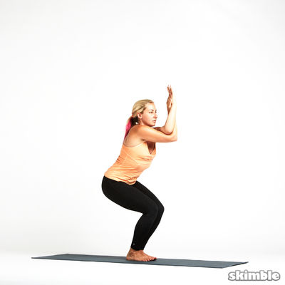Eagle Pose - Right Then Left