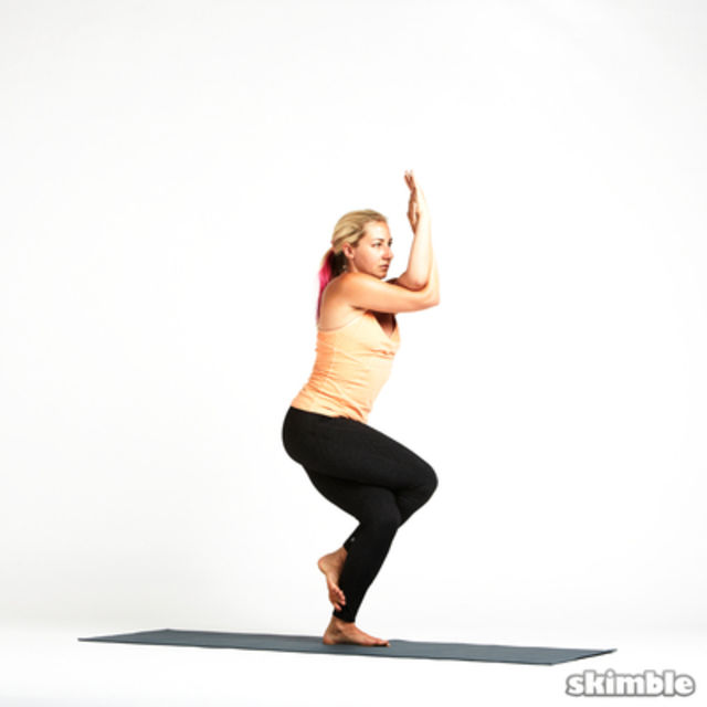 How to do: Eagle Pose - Step 7