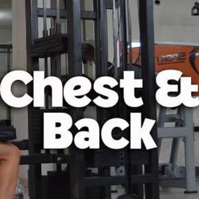 chest and back
