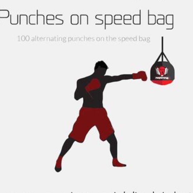 How to do: Punches On Speed Bag - Step 1
