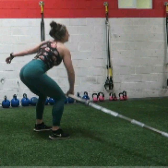 How to do: SQUAT TO LUNGE LAMDMINES - Step 3