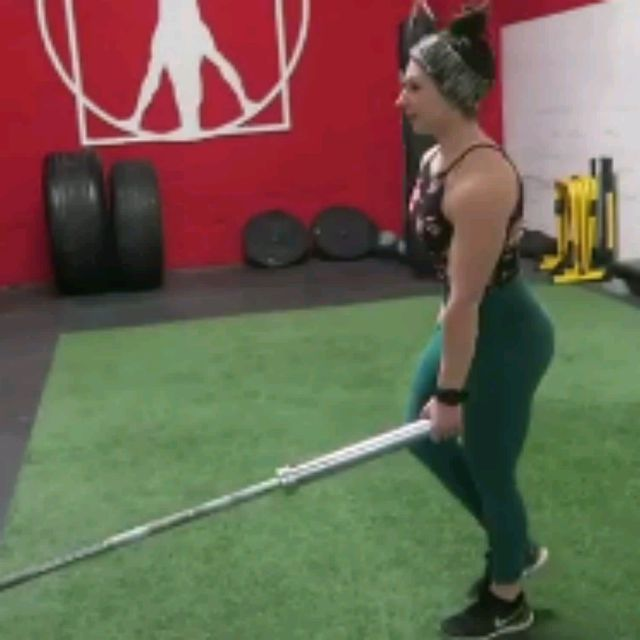 How to do: Single Leg Deadlift With Landmine - Step 1