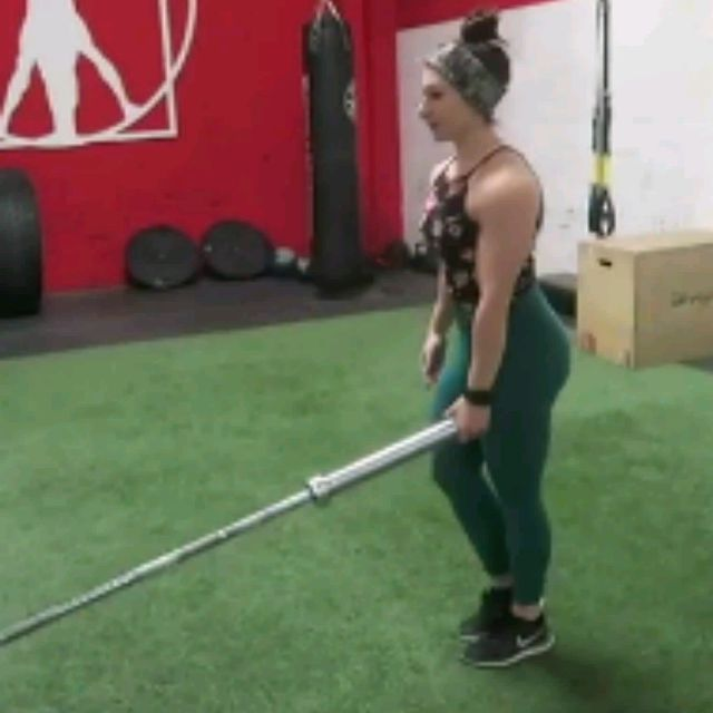 How to do: Single Leg Deadlift With Landmine - Step 2