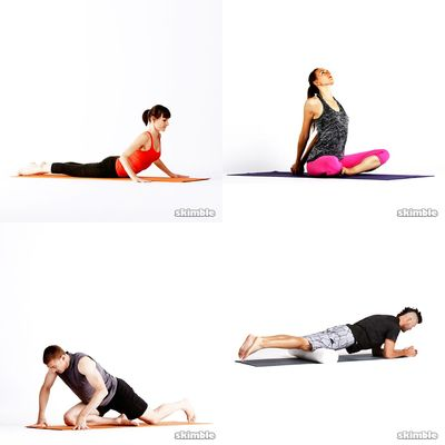 Stretches And yoga