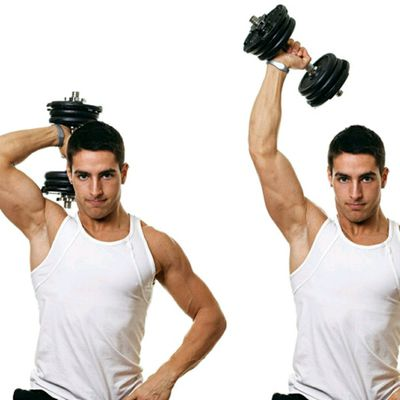 Single Arm Overhead Tricep Extension