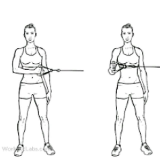How to do: Shoulder External Rotations With Band - Step 1