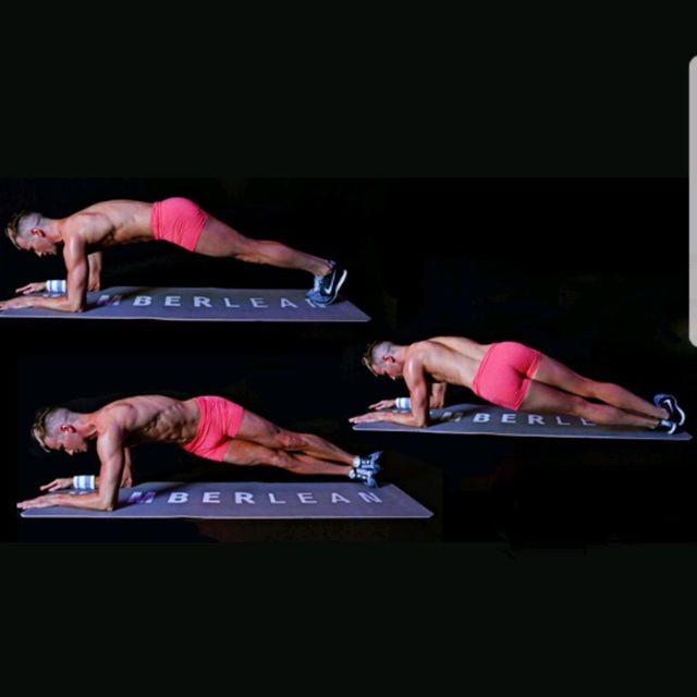 How to do: Elbow Plank Hip Twists - Step 1