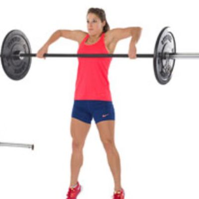 Hang Power Snatch(4reps)