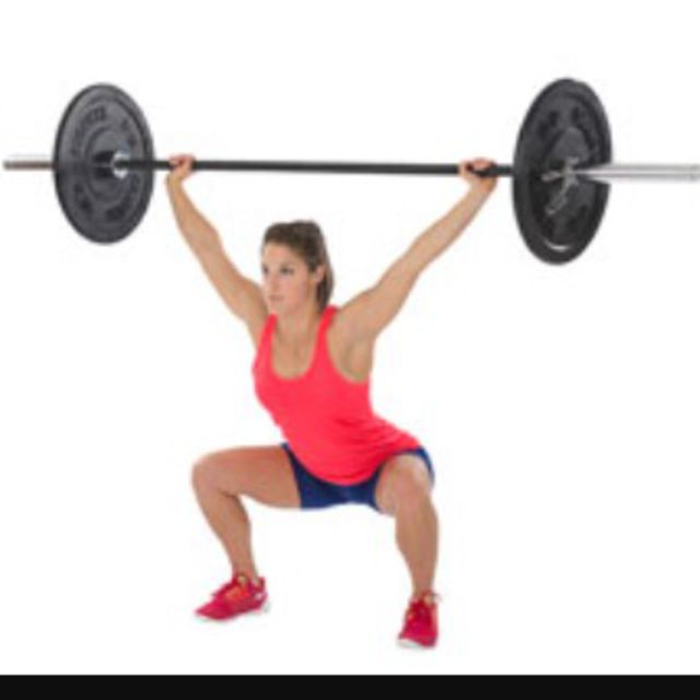 How to do: Hang Power Snatch(4reps) - Step 3