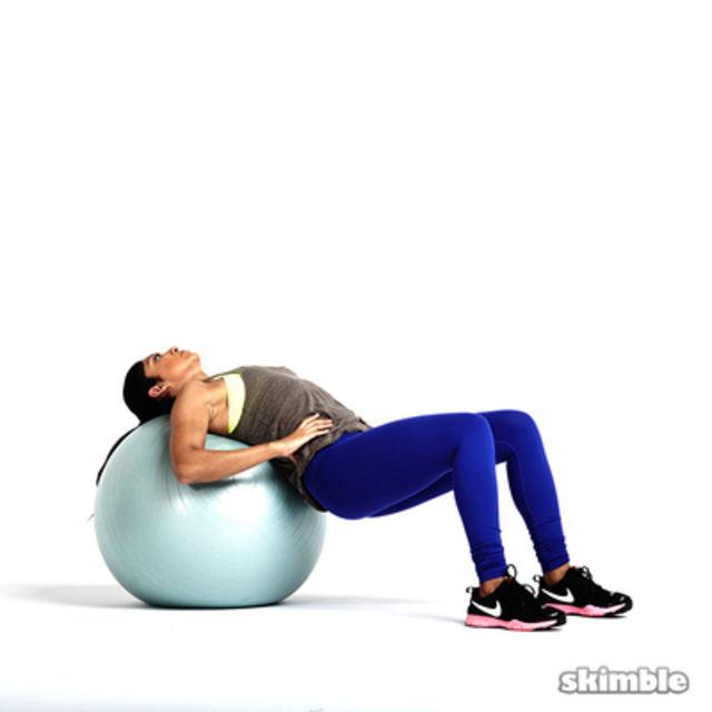Intense Stability Ball Workout