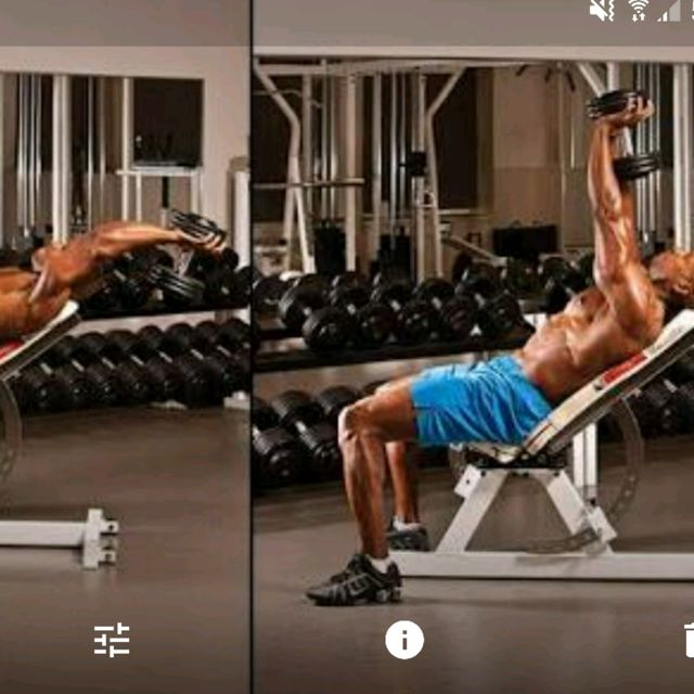 How to do: Incline Dumbbell Pull-Over - Step 1