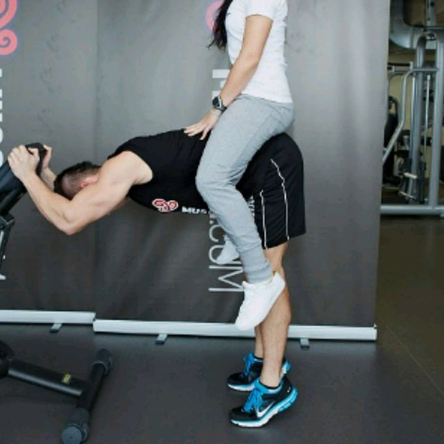 How to do: Donkey Calf Raises - Step 1