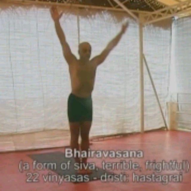 How to do: Kala Bhairavasana Sequence - Step 1