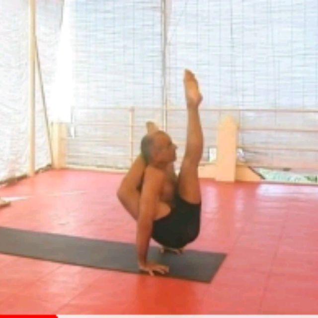 How to do: Kala Bhairavasana Sequence - Step 16