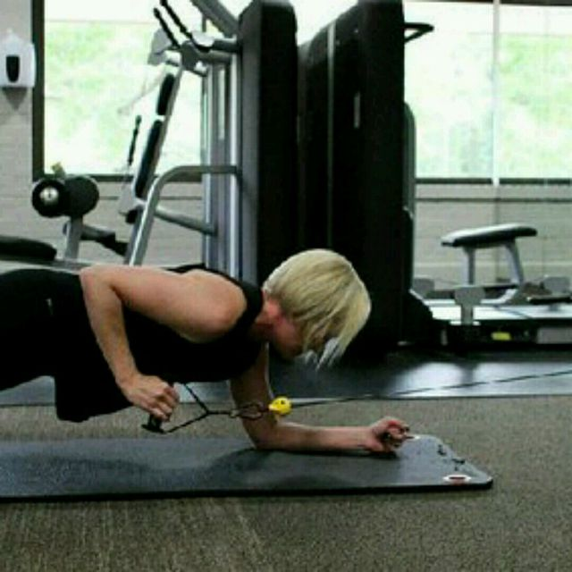 How to do: CM Plank Rows - Step 3