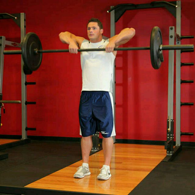 How to do: Upright Barbell Row - Step 1