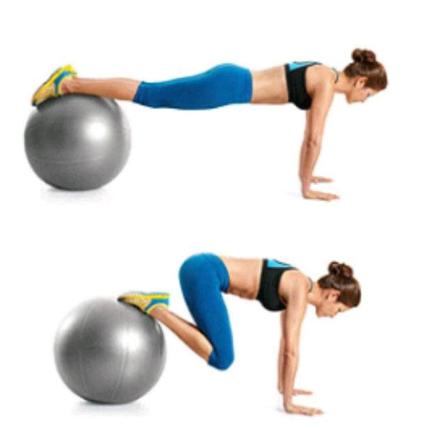 How to do: Stability Ball Jackknife - Step 1