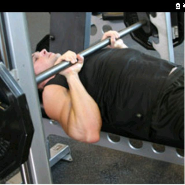 How to do: Close-Grip Bench Press - Step 1