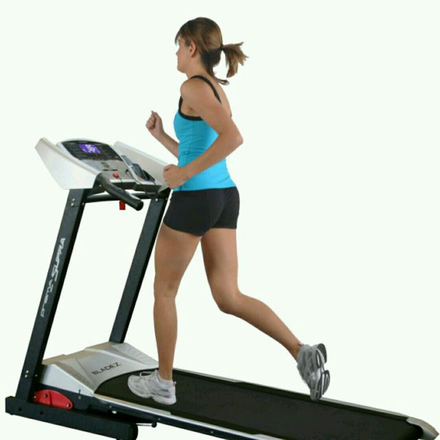 How to do: Treadmill Running, Speed 13 - Step 1