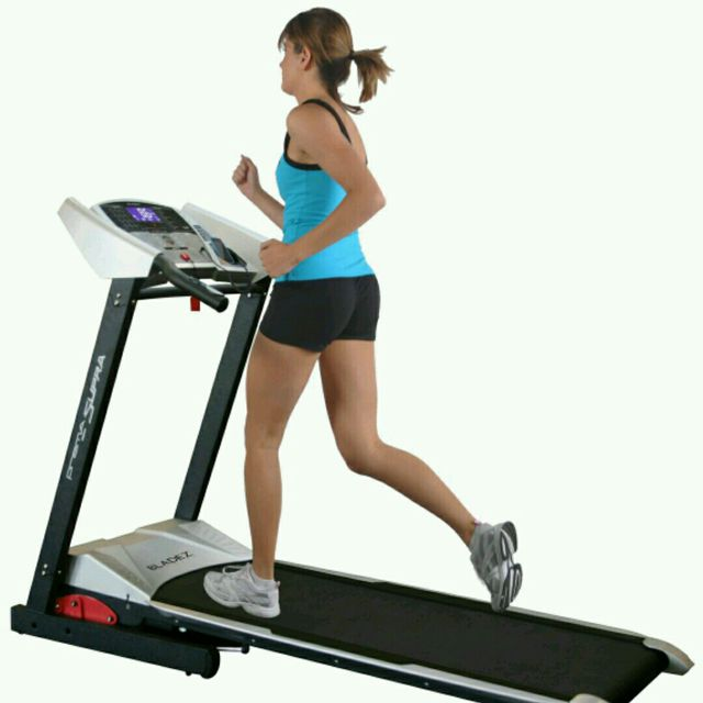 How to do: Treadmill Running, Speed 14 - Step 1
