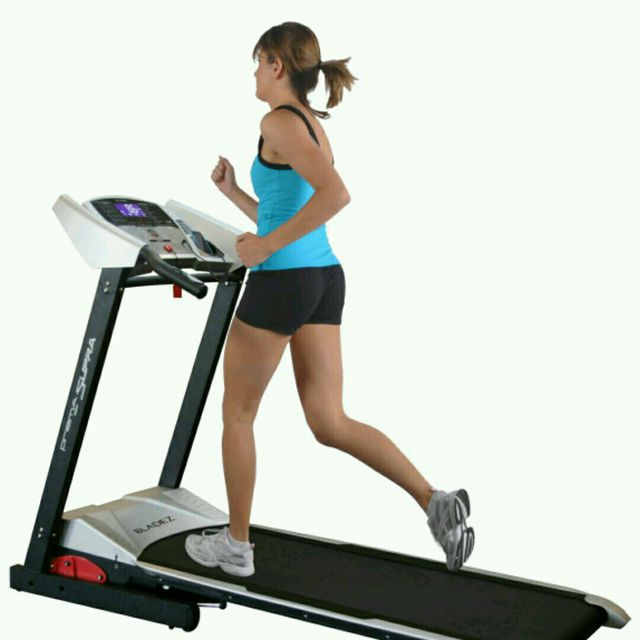 How to do: Treadmill Running, Speed 11 - Step 1