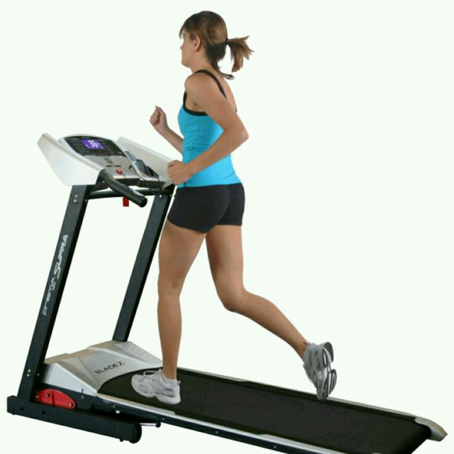 How to do: Treadmill Running, Speed 10 - Step 1