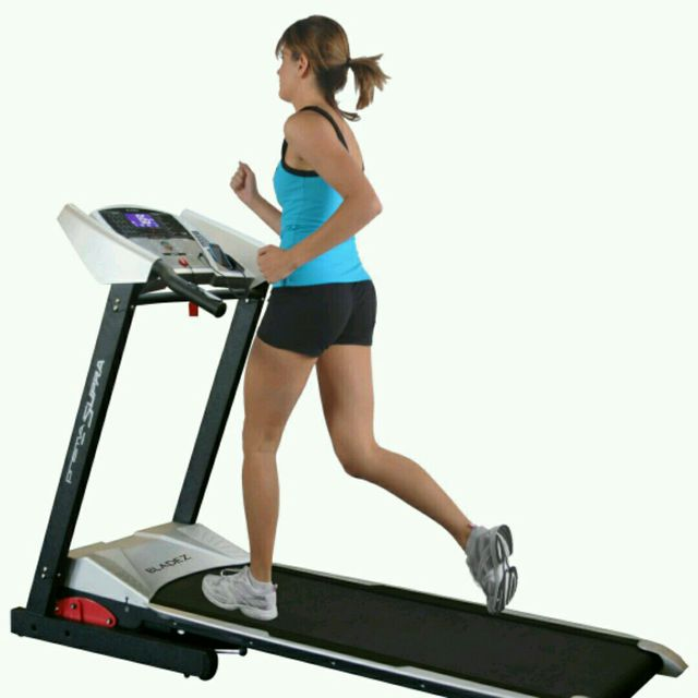 How to do: Treadmill Running, Speed 9 - Step 1