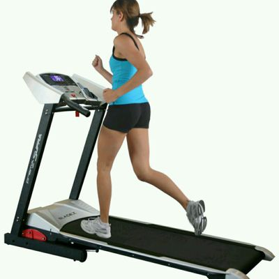 Treadmill Running, Speed 8