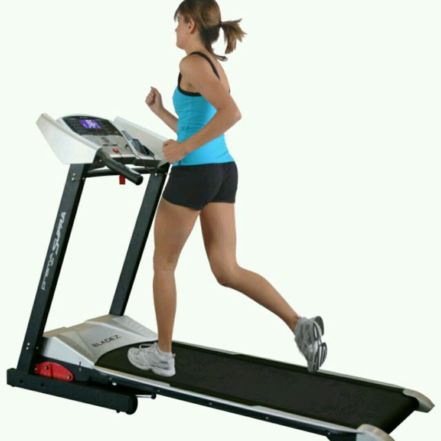 How to do: Treadmill Running, Speed 8 - Step 1