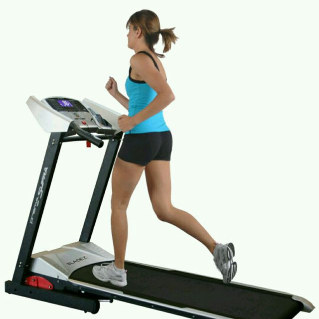 How to do: Treadmill Running, Speed 7 - Step 1