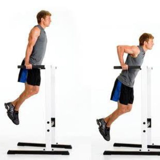 How to do: Triceps Dip - Step 1