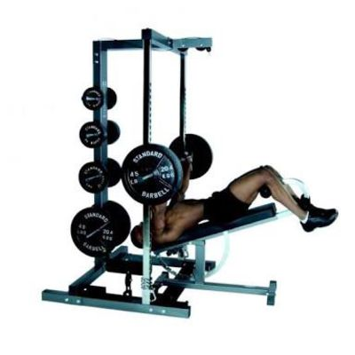 Decline Smith Machine Bench Press