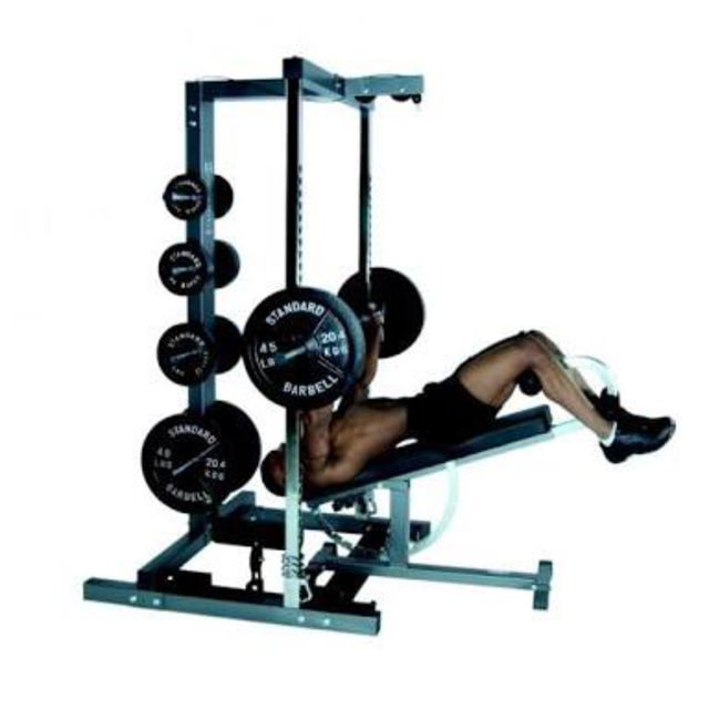 How to do: Decline Smith Machine Bench Press - Step 1